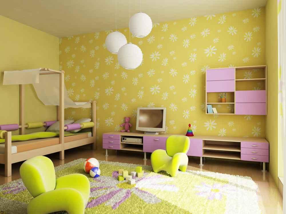 żółty pokój dziecięcy Białystok