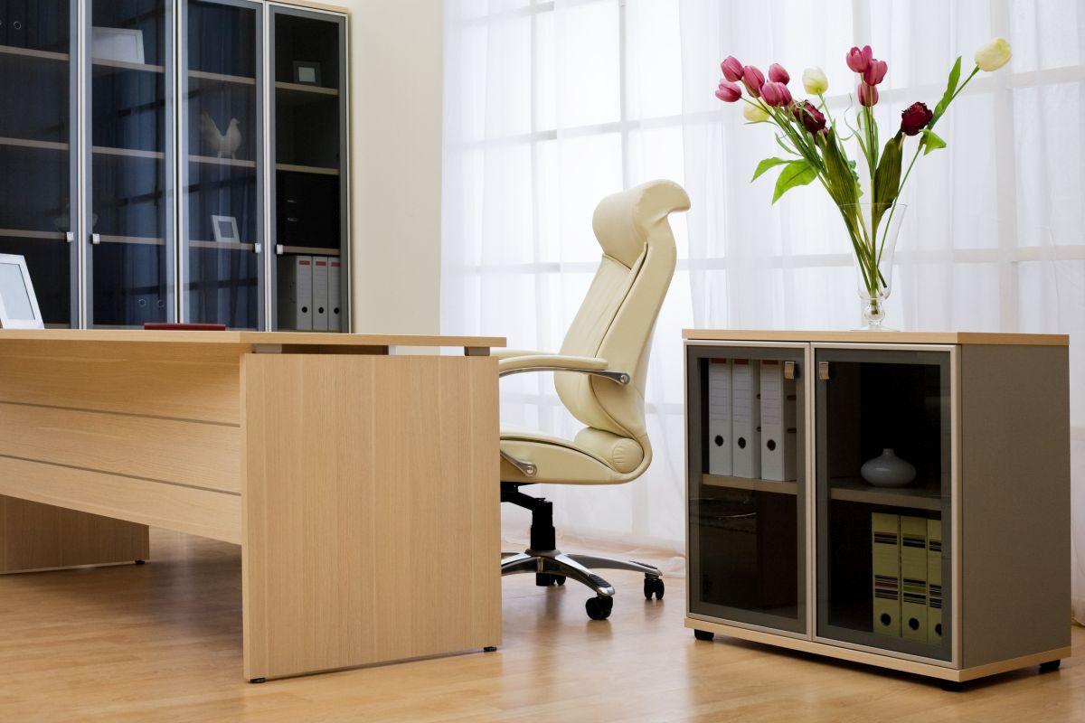 meble biurowe zrobione przez zakład stolarski z Białegostoku