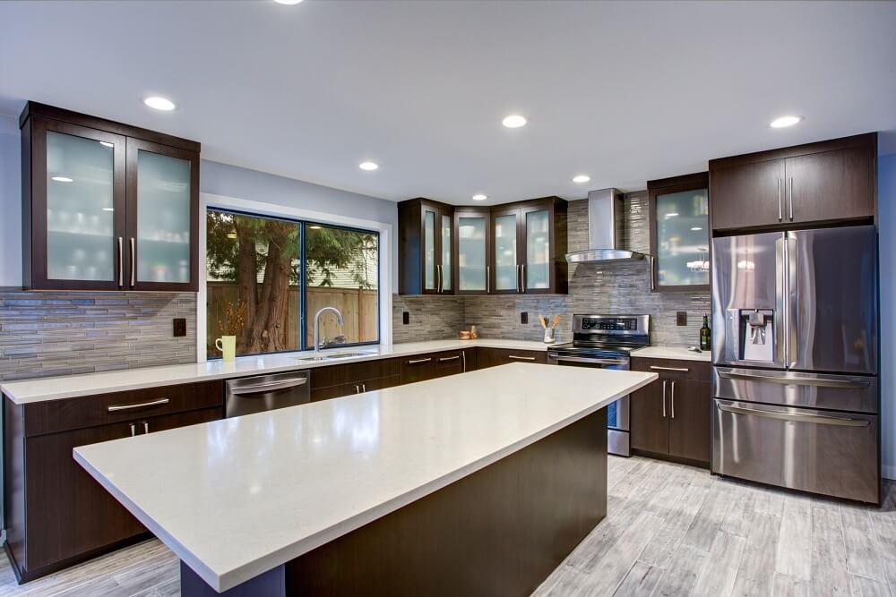 oświetlenie w kuchni na wymiar